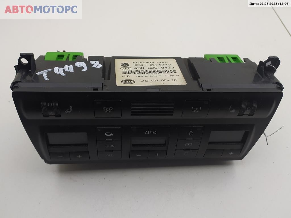 Блок управления печки/климат-контроля   4B0820043J