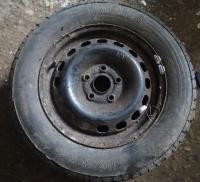 Диск колесный обычный (стальной) Audi 100 (C4) Артикул 51834568 - Фото #1