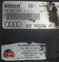 Блок управления Audi 80 (B4) Артикул 51473169 - Фото #2