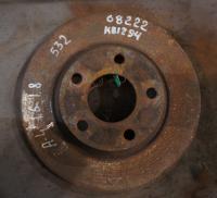 Диск тормозной Audi A4 (B5) Артикул 50586837 - Фото #1