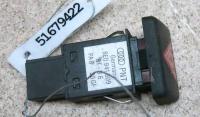 Кнопка аварийной сигнализации (аварийки) Audi A4 (B6) Артикул 51679422 - Фото #1