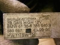 Блок комфорта BMW 3-series (E46) Артикул 783525 - Фото #2