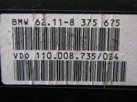 Щиток приборный (панель приборов) BMW 5-series (E39) Артикул 936701 - Фото #3