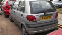 Daewoo Matiz Разборочный номер W7519 #1