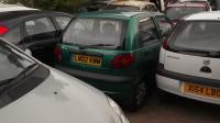 Daewoo Matiz Разборочный номер W9047 #2