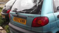 Daewoo Matiz Разборочный номер W9663 #3