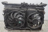 Диффузор (кожух) вентилятора радиатора Fiat Ulysse II (c 2002) Артикул 900083078 - Фото #1