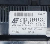 Переключатель отопителя Ford Galaxy II (2000-2006) Артикул 50887698 - Фото #2