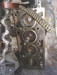 Блок цилиндров двигателя (картер) Ford Ka Артикул 5085979 - Фото #2