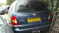 Hyundai Trajet Разборочный номер W8019 #3