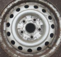 Диск колесный обычный (стальной) Mazda 626 Артикул 1035931 - Фото #1
