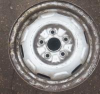 Диск колесный обычный (стальной) Mazda 626 Артикул 670130 - Фото #1