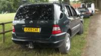 Mercedes W163 (ML) Разборочный номер 50646 #1