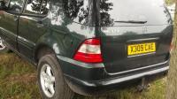 Mercedes W163 (ML) Разборочный номер 50646 #2