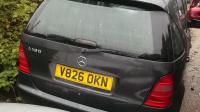 Mercedes W168 (A) Разборочный номер 45341 #1