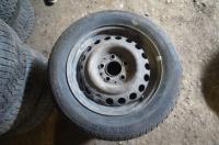 Диск колесный обычный (стальной) Mercedes W201 (190) Артикул 50855780 - Фото #1
