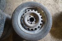 Диск колесный обычный (стальной) Mercedes W201 (190) Артикул 50855799 - Фото #1