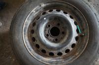 Диск колесный обычный (стальной) Mercedes W201 (190) Артикул 50861217 - Фото #1