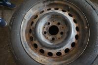Диск колесный обычный (стальной) Mercedes W201 (190) Артикул 50861240 - Фото #1