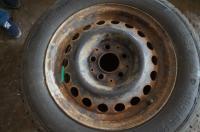 Диск колесный обычный Mercedes W201 (190) Артикул 50861259 - Фото #2