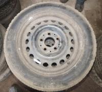 Диск колесный обычный (стальной) Mercedes W201 (190) Артикул 51297429 - Фото #1