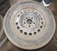 Диск колесный обычный (стальной) Mercedes W201 (190) Артикул 51299023 - Фото #1