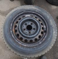 Диск колесный обычный (стальной) Mercedes W201 (190) Артикул 51433516 - Фото #2