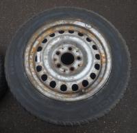 Диск колесный обычный (стальной) Mercedes W201 (190) Артикул 51459236 - Фото #2