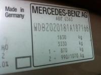 Mercedes W202 Разборочный номер S0494 #5