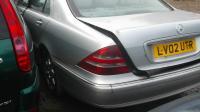 Mercedes W220 Разборочный номер B1982 #2