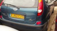 Nissan Almera Tino Разборочный номер W7882 #2
