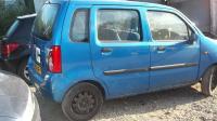 Opel Agila Разборочный номер W7938 #2