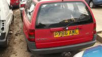 Opel Astra F Разборочный номер W9565 #3