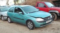 Opel Corsa C Разборочный номер W8631 #1