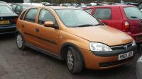 Opel Corsa C Разборочный номер W9538 #1