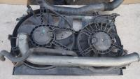 Двигатель вентилятора радиатора Opel Vectra C Артикул 51543051 - Фото #1