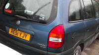 Opel Zafira A Разборочный номер W8253 #1
