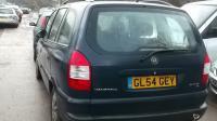 Opel Zafira A Разборочный номер W8583 #2