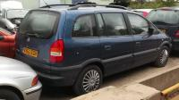 Opel Zafira A Разборочный номер W8944 #2