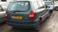 Opel Zafira A Разборочный номер 50957 #1