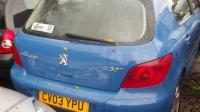 Peugeot 307 Разборочный номер B1983 #4