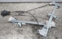 Стеклоподъемник механический Peugeot Partner (1996-2002) Артикул 51848225 - Фото #1