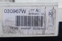 Переключатель отопителя Renault Modus Артикул 50405872 - Фото #3