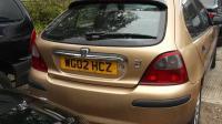 Rover 25 Разборочный номер W8317 #1
