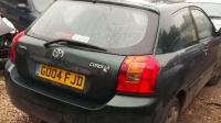 Toyota Corolla (2002-2004) Разборочный номер W7992 #2