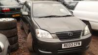 Toyota Corolla (2002-2004) Разборочный номер 46691 #1