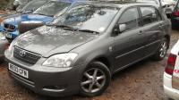 Toyota Corolla (2002-2004) Разборочный номер W8245 #2