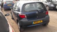 Toyota Yaris Разборочный номер W9051 #2