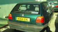 Volkswagen Golf-3 Разборочный номер W8928 #2
