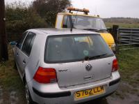 Volkswagen Golf-4 Разборочный номер B2650 #2